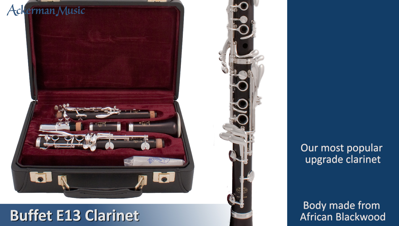 Buffet E13 Clarinet